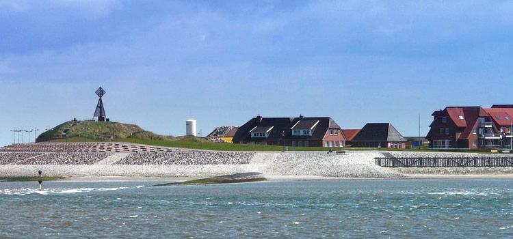 Der Hafen auf Baltrum