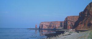 Felsen Steilküste von Helgoland