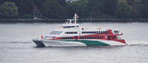 Fähre zur Insel Helgoland