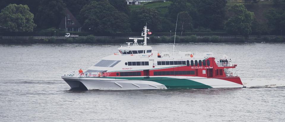 Helgoland Katamaran – von Hamburg nach Helgoland mit dem Katamaran