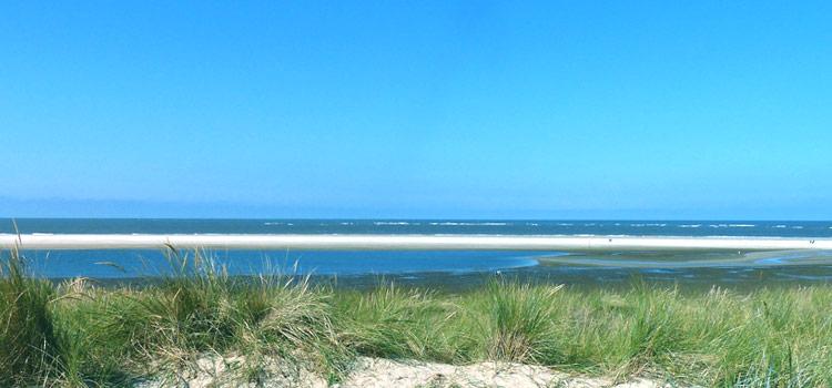 Strand auf der Nordseeinsel Langeoog